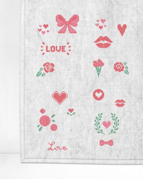"""Patches """"Valentines"""" (Digitalt broderimönster)"""