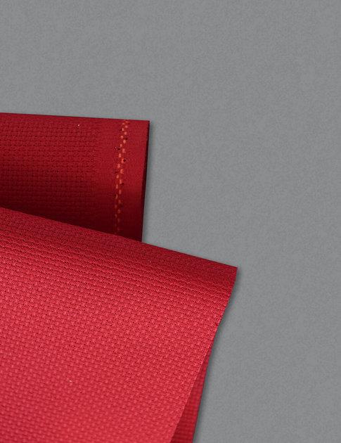 Röd aidaväv i 5,4 kors/cm
