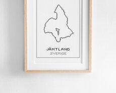 Cross stitch kit aida – Jämtland
