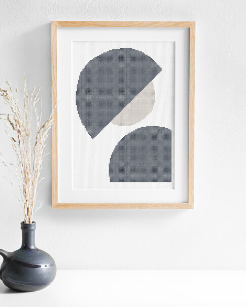 Profile (Digital embroidery pattern)