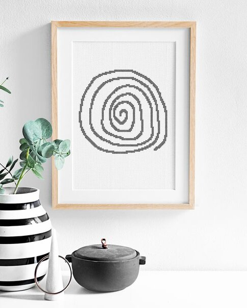 Hypnosis (Digital embroidery pattern)