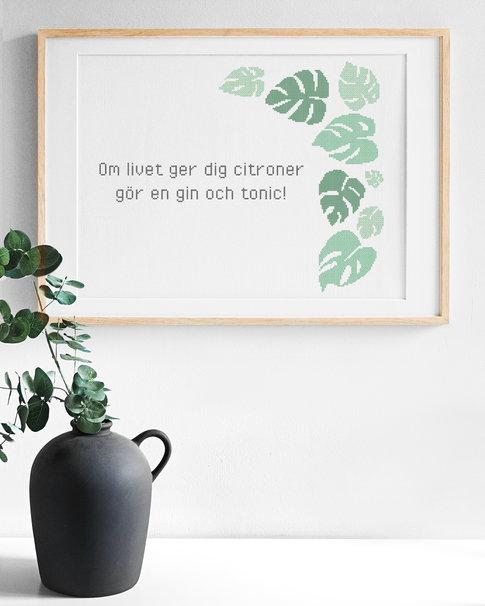 När livet ger dig citroner - SWE