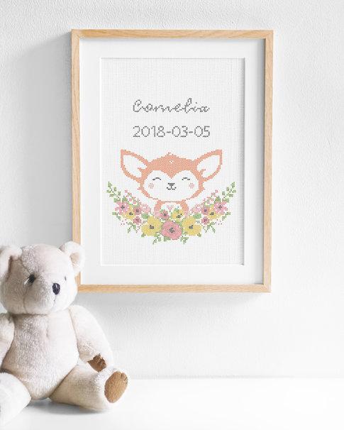 Fox - Flower Friends