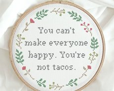 You're not tacos