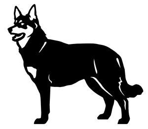 Grupp 5 - FCI  nr. 284 / Lapsk Vallhund (Siluett)