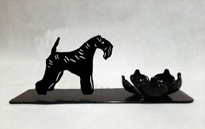 Grupp 3 - FCI nr. 3 / Kerry Blue Terrier (Ljus)