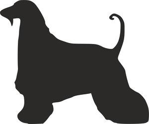 Grupp 10 - FCI nr. 228 / Afghanhund Stand (Siluett)