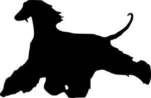Grupp 10 - FCI nr. 228 / Afghanhund Run (Siluett)