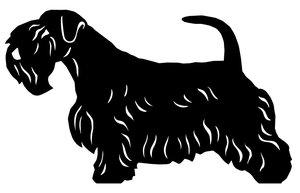 Grupp 3 - FCI  nr. 74 / Sealyham Terrier (Siluett)
