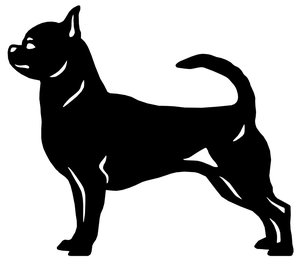 Grupp 9 - FCI nr. 218 / Chihuahua Korthårig (Siluett)