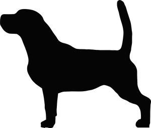 Grupp 6 - FCI nr. 161 / Beagle (Siluett)