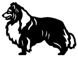Grupp 1 - FCI nr. 88 / Shetland Sheepdog (Siluett)