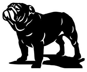 Grupp 2 - FCI nr. 149 / Engelsk Bulldog (Siluett)