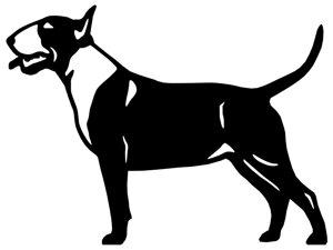 Grupp 3 - FCI nr. 11 / Bullterrier (Siluett)