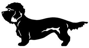 Grupp 3 - FCI nr. 168 / Dandie Dinmont Terrier (Siluett)