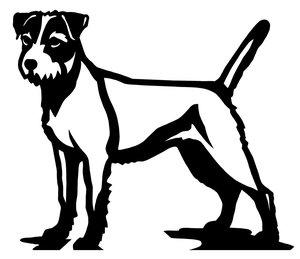 Grupp 3 - FCI nr. 339 / Parson Russel Terrier (Siluett)