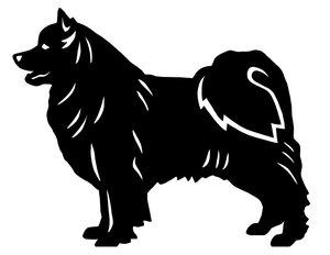 Grupp 5 - FCI  nr. 135 / Svensk Lapphund (Siluett)