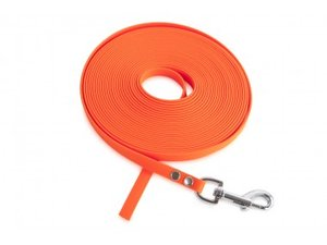 FIREDOG BioThane Tracking leash 13 mm 10 m orange