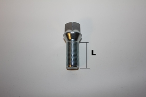 Hjulbult M14x1.25 Kona