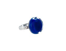 Ring, Cachou nano milk - blå
