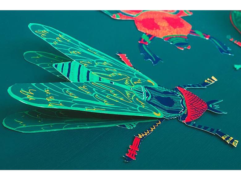 Kort 'Fluga grön'