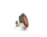 Ring 'Frida' oval