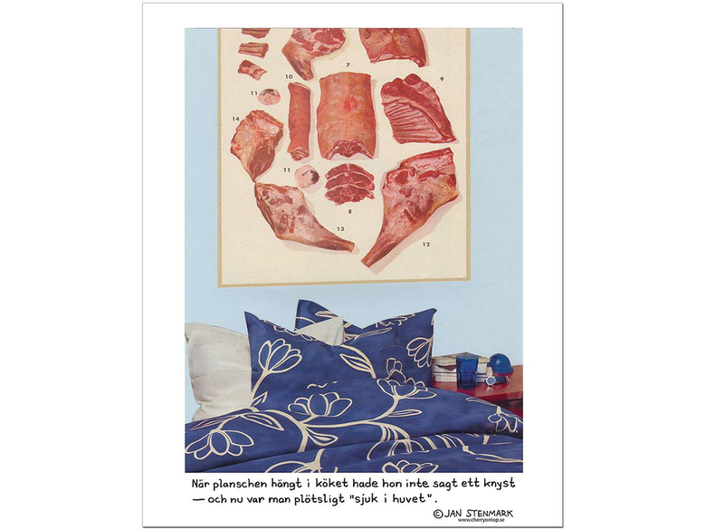 Affisch Jan Stenmark 'Planschen'