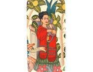Bricka 32x15 cm Frida apa (vit)