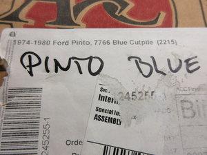 Matta Ford Pinto  (Blue 7766)