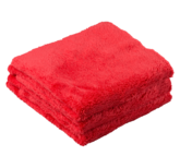 Chemical Guys Happy Ending Red Edgeless Microfiber