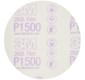 3M Hookit Purple Filmrondell 260L 76mm