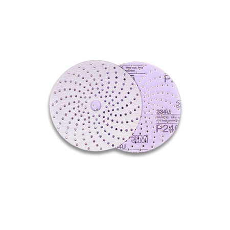 3M Sliprondell Hookit Purple+ 334U 177-hål 150mm