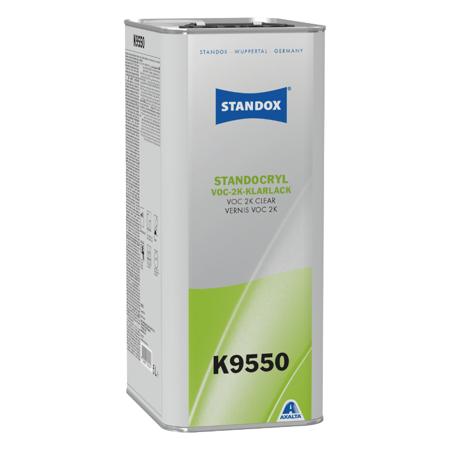 Standox VOC 2K Clear Klarlack K9550