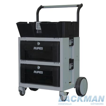 Rupes Polervagn med 2 lådor