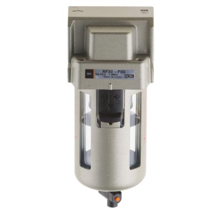 SMC Tryckluftsfilter manuell dränering