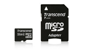 TRANSCEND SDHC MICRO CLASS 4 M/ADAPTER