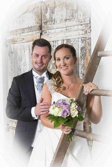 Bröllop - Ateljéfotografering