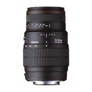 Sigma AF 70-300/4,0-5,6 DG APO till Nikon