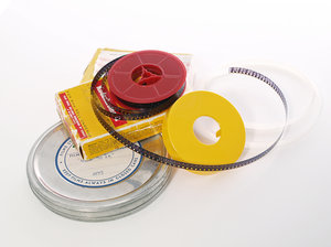 Smalfilm till DVD/USB