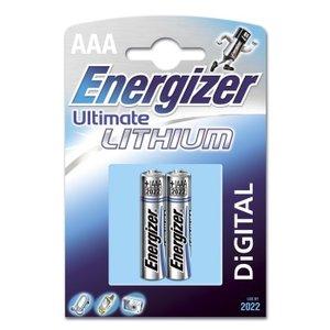 ENERGIZER Ultim Lithium AAA 2p LR03