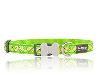 Flanno Hundhalsband Lime