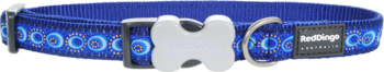 Hundhalsband Cosmos blå