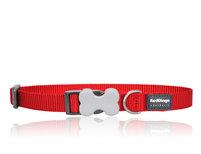 Hundhalsband Rött