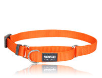 Halvstryp halsband Orange