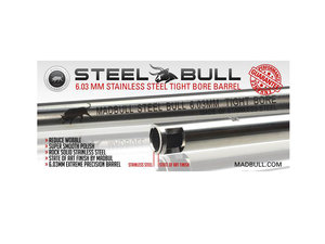 Pipa, rostfritt stål, 6,03x499 mm, Madbull