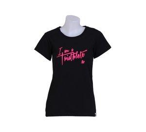 T-shirt, I am a Triathlete, dam