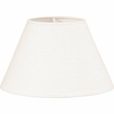 Lampskärm Carolin benvit 30 cm shabby chic lantlig stil