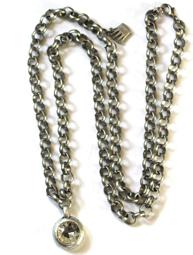 Långt halsband Diamonds are a girls best friend Pearls for Girls