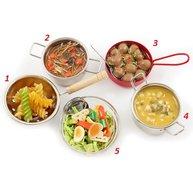 Kylskåpsmagnet magnet kök 5 olika shabby chic lantlig stil