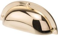 Handtag retro antik stil guld mässing färgad shabby chic lantlig stil